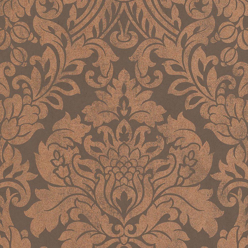 Graham & Brown Copper Gloriana Wallpaper