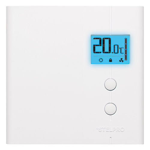 Electronic thermostat 4,000 watts Single programming