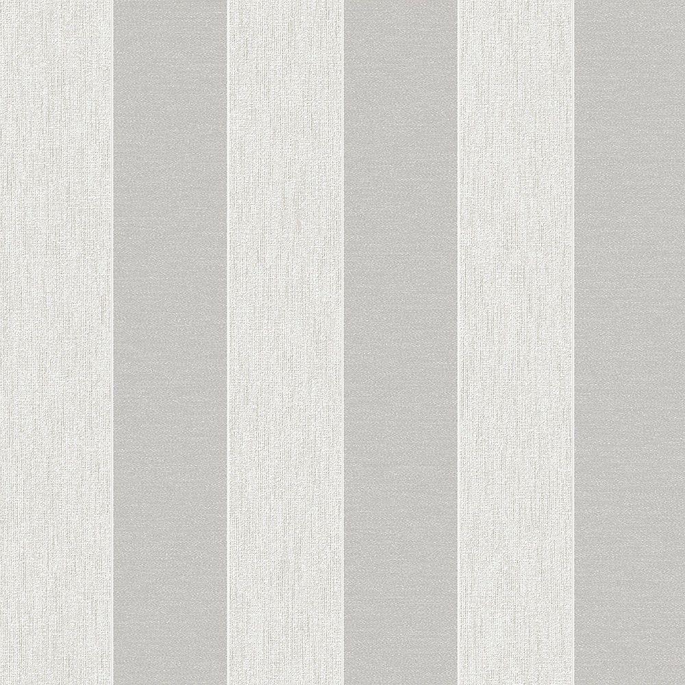 Graham & Brown Ariadne White/Silver Wallpaper