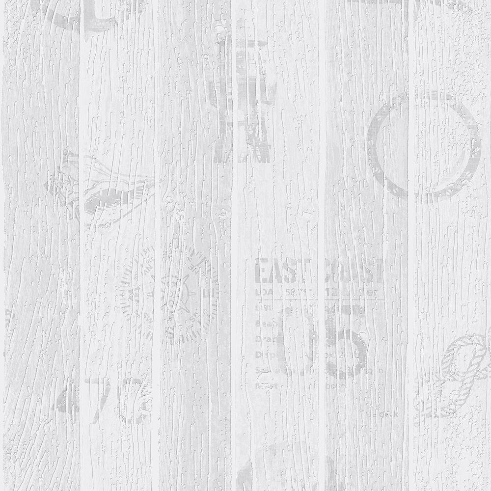 Graham & Brown Nautical Grey Wallpaper