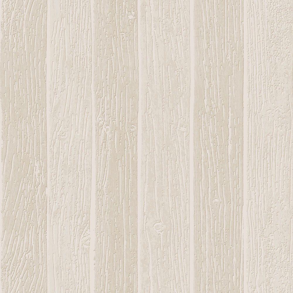 Graham & Brown Nautical Woodgrain Beige Wallpaper