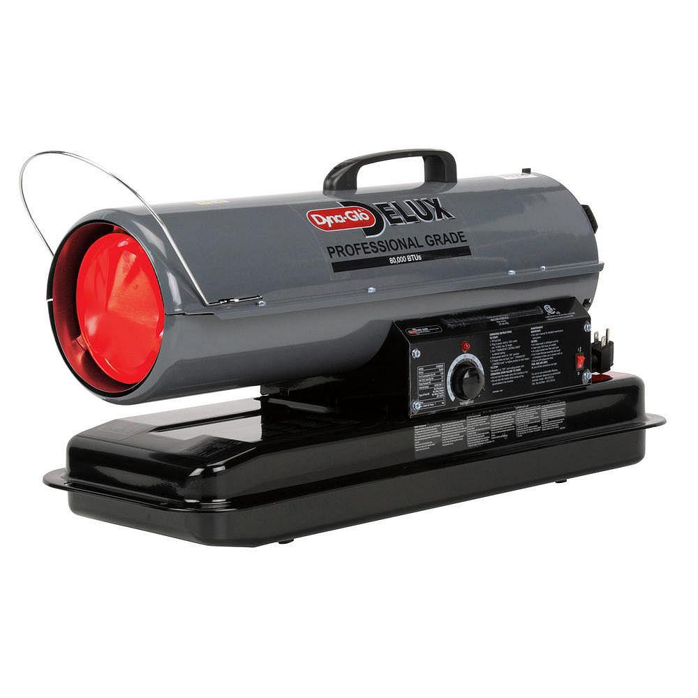 Dyna-Glo Delux 80K BTU Kerosene Forced Air Heater