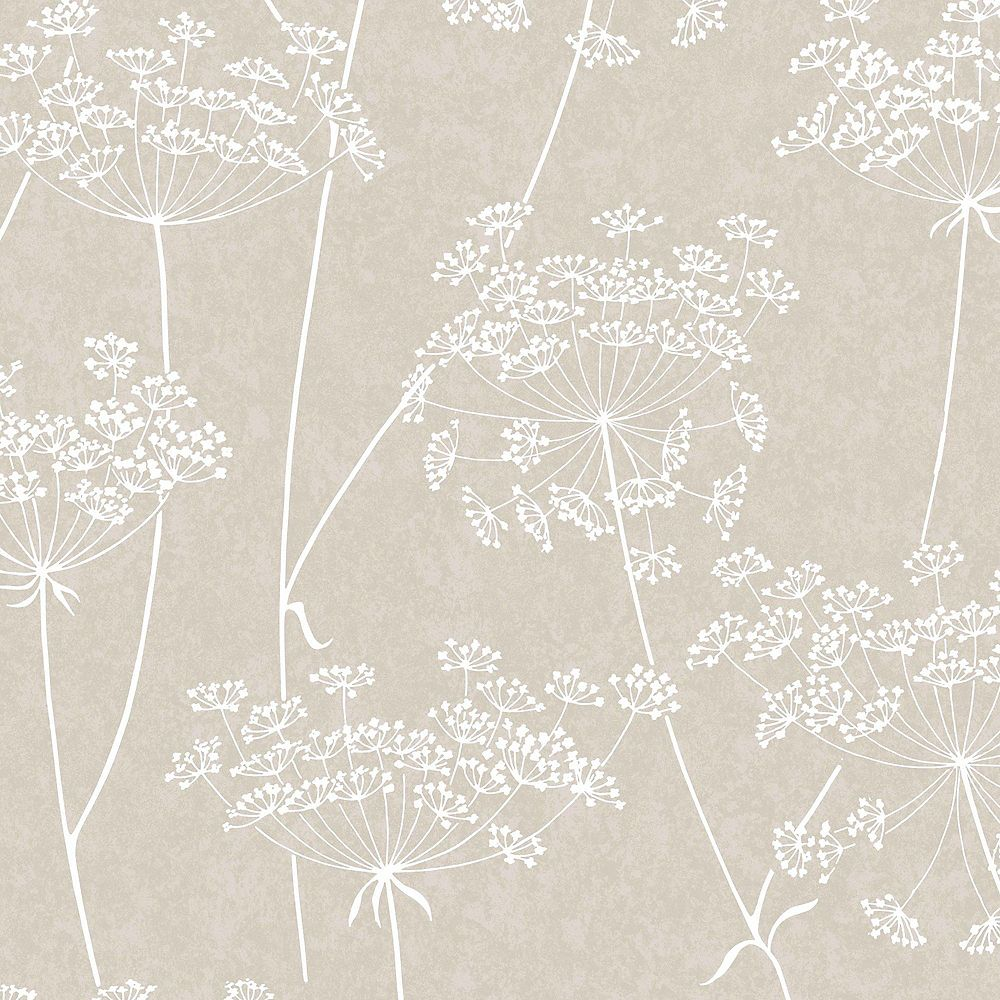 Graham & Brown Taupe Aura Wallpaper