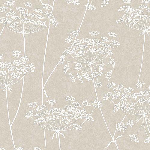 Aura Papier Peint Taupe