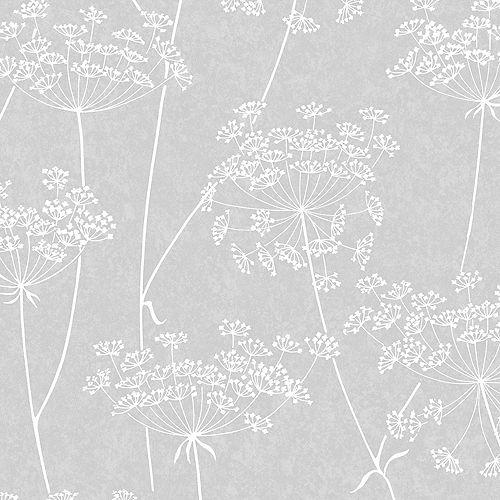 Aura Papier Peint Gris