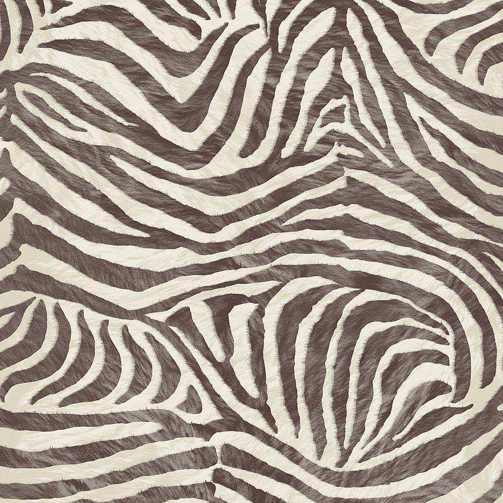 Graham & Brown Zebra Brown/Beige Wallpaper