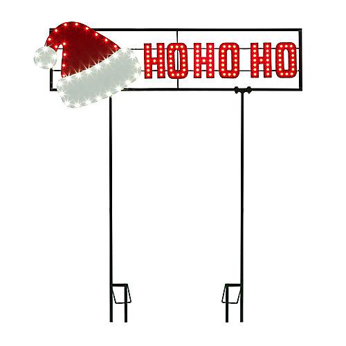 Panneau DEL Super-Tech Ho-Ho-Ho