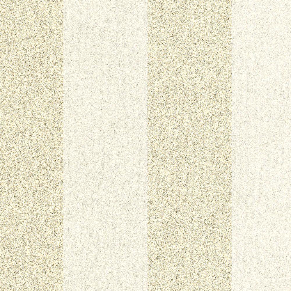 Graham & Brown Rayure artisan Papier Peint Huître/Or