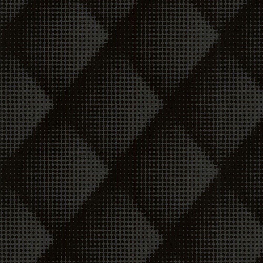 Graham & Brown Braille Chester Black/Pewter Wallpaper