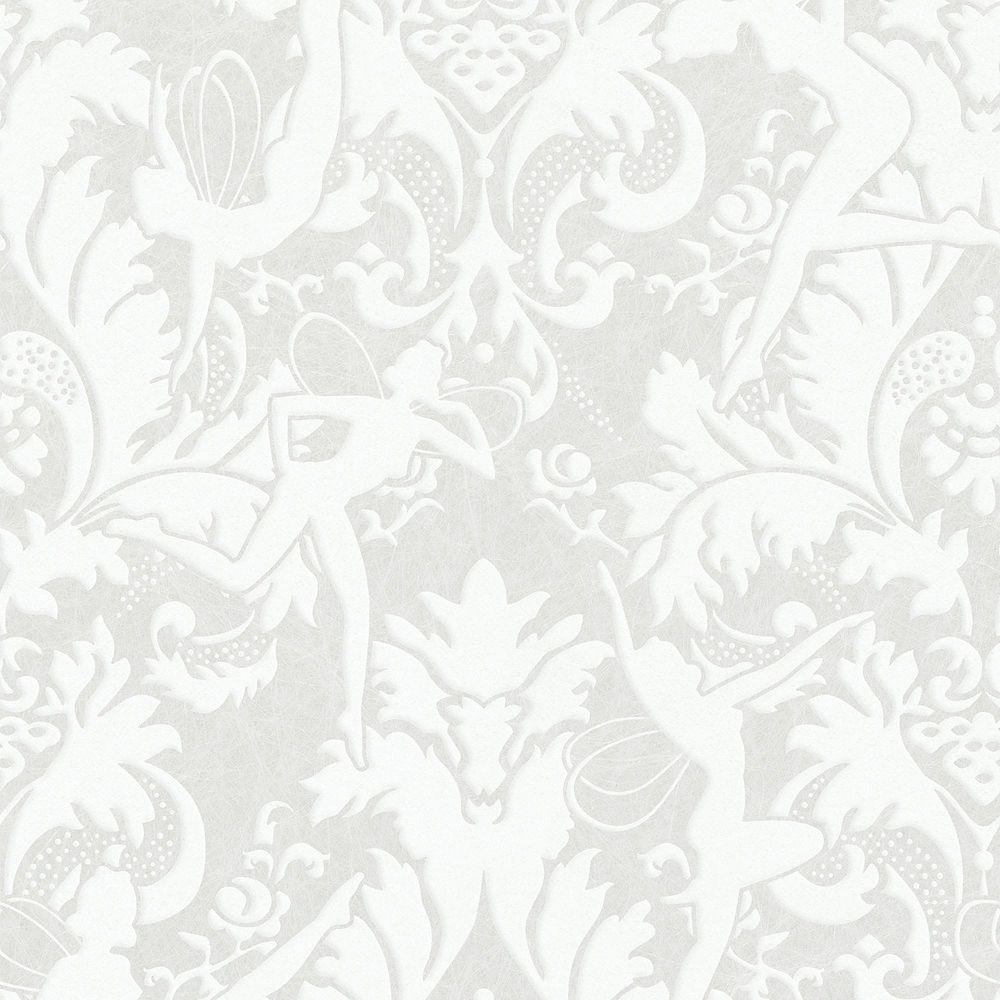 Graham & Brown Muse Papier Peint Blanc