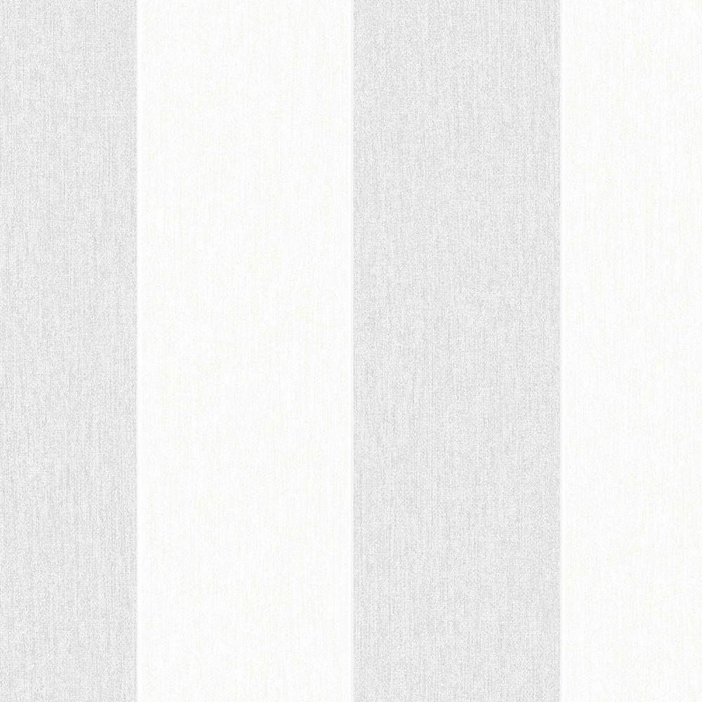 Superfresco Easy Calico Stripe Grey Removable Wallpaper
