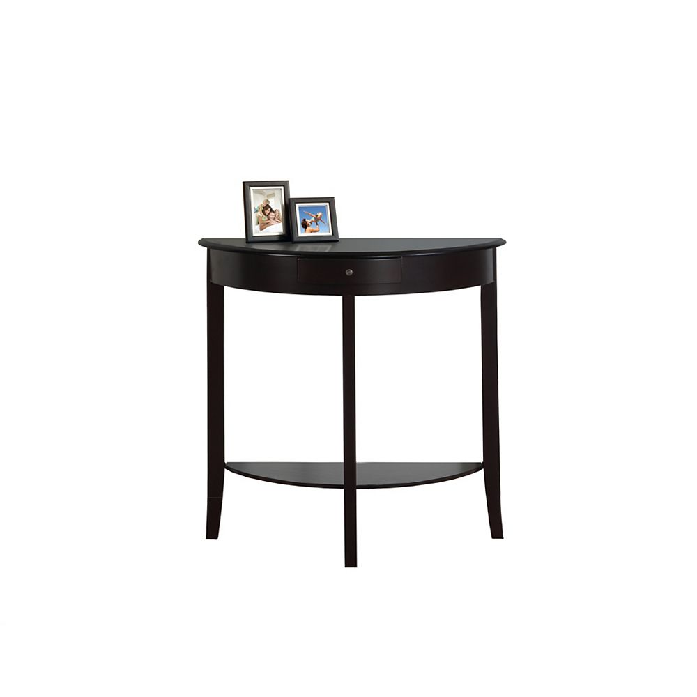 Monarch Specialties Accent Table - 31 Inch L / Dark Cherry Hall Console
