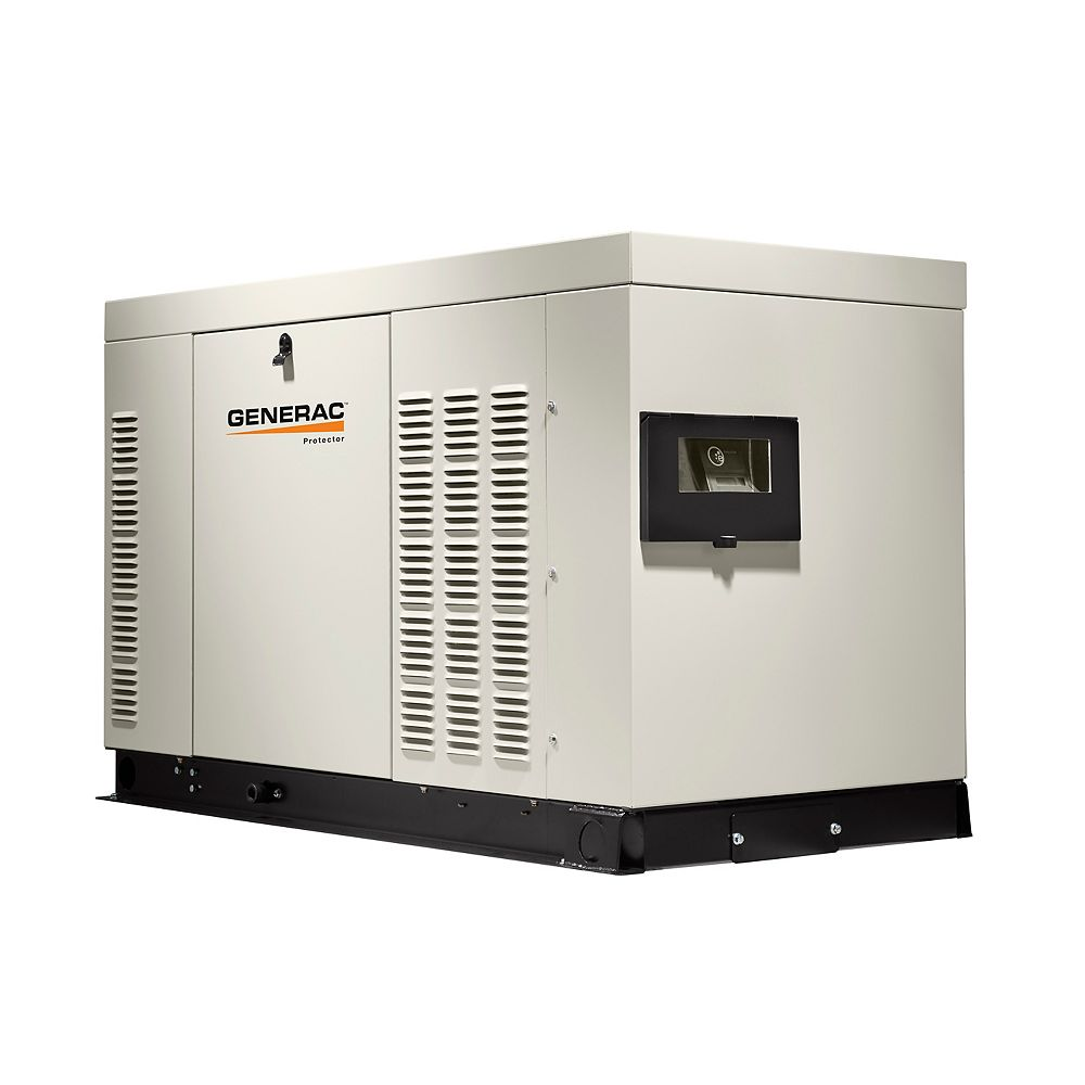 Generac 36 000w Liquid Cooled 120 240 Single Phase Automatic Standby Generator With Alumin The Home Depot Canada