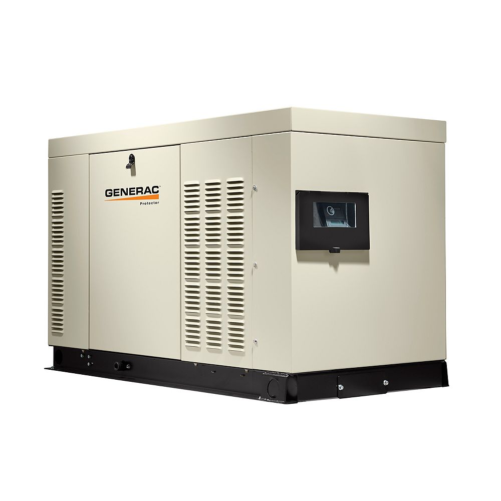 Generac 36,000-Watt Liquid Cooled 120/240 3-Phase Automatic Standby Generator with Steel Enclosure