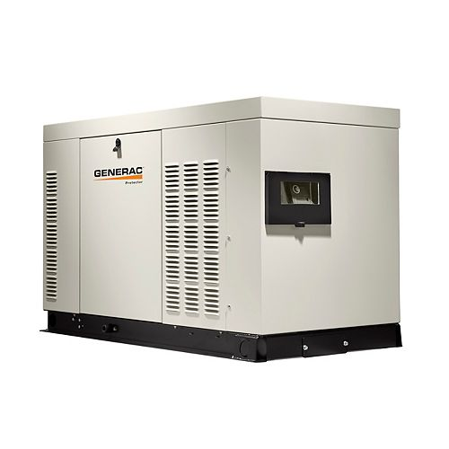 60,000W Liquid Cooled 120/240 3-Phase Automatic Standby Generator Aluminum Enclosure