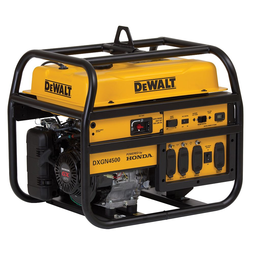 DEWALT 4500W Portable Generator