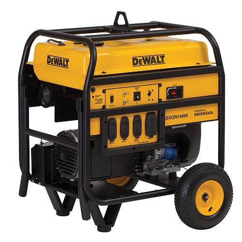 14,000 Watt Portable Generator with Electric Start