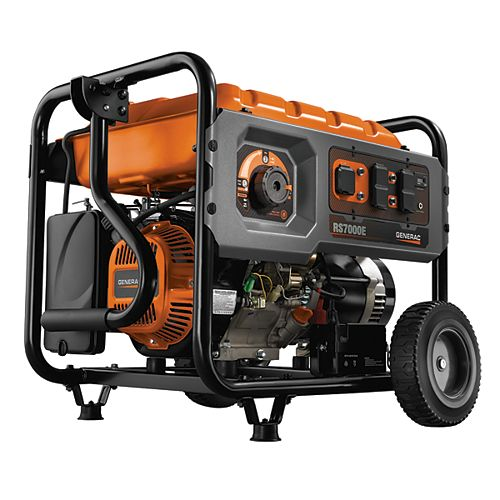 RS7000E 7,000W Gas-Powered Portable Generator