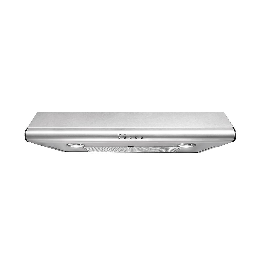 Frigidaire 30-inch Under Cabinet Range Hood in Stainless Steel