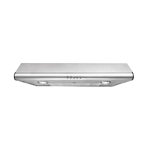 30-inch Under Cabinet Range Hood in Stainless Steel