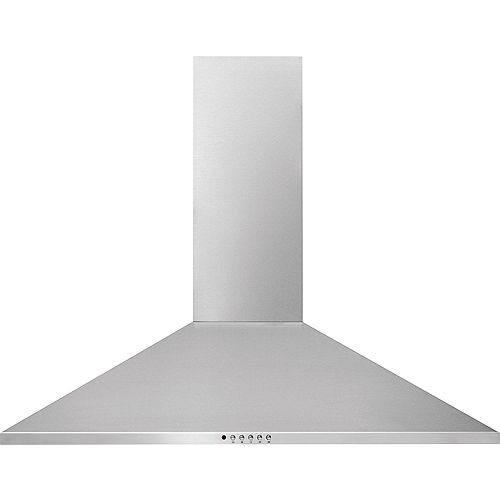 30-inch Canopy Wall-Mounted Hood in Stainless Steel
