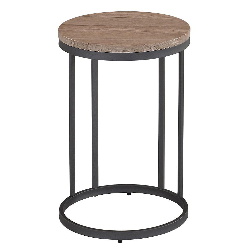!nspire MUNICH TABLE D'APPOINT -GRIS