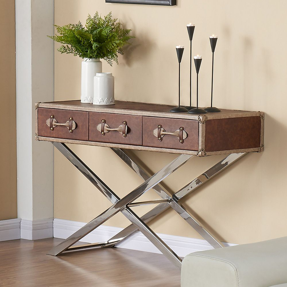 !nspire Esquire-Console Table-Brown