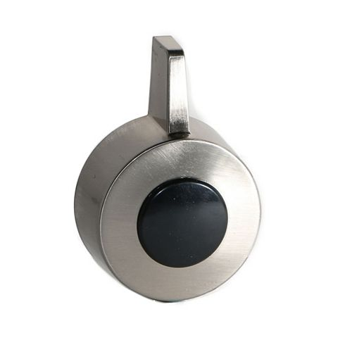 Jag Plumbing Products Shower Handle And Screw Cap Fits Danfoss Tempress II in Brushed Nickel