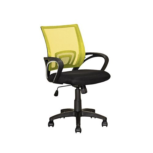 Workspace Yellow Mesh Back Office Chair