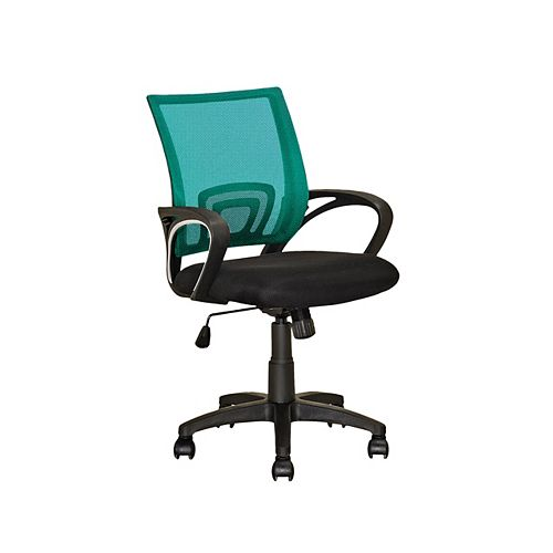 Corliving Workspace Teal Mesh Back Office Chair