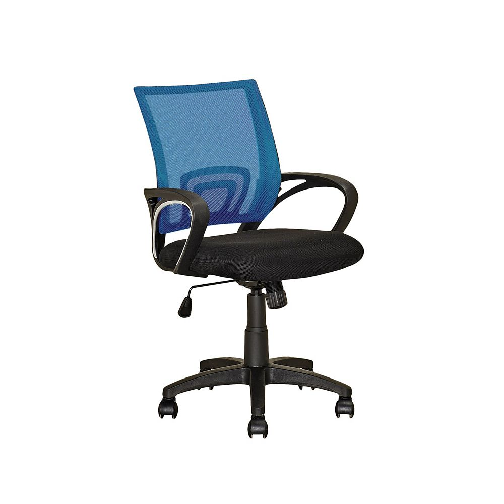 Corliving Workspace Process Blue Mesh Back Office Chair