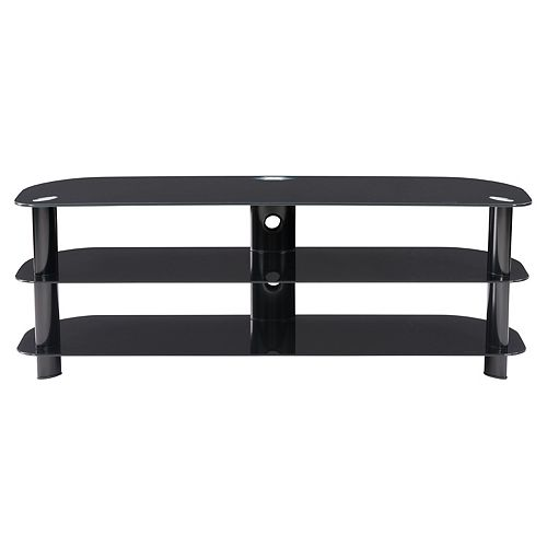 Laguna 55-inch x 19-inch x 18-inch TV Stand in Black