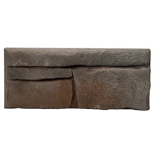 Placage de pierre Great Lakes - Raven (petit emballage – 5 pieds carrés)