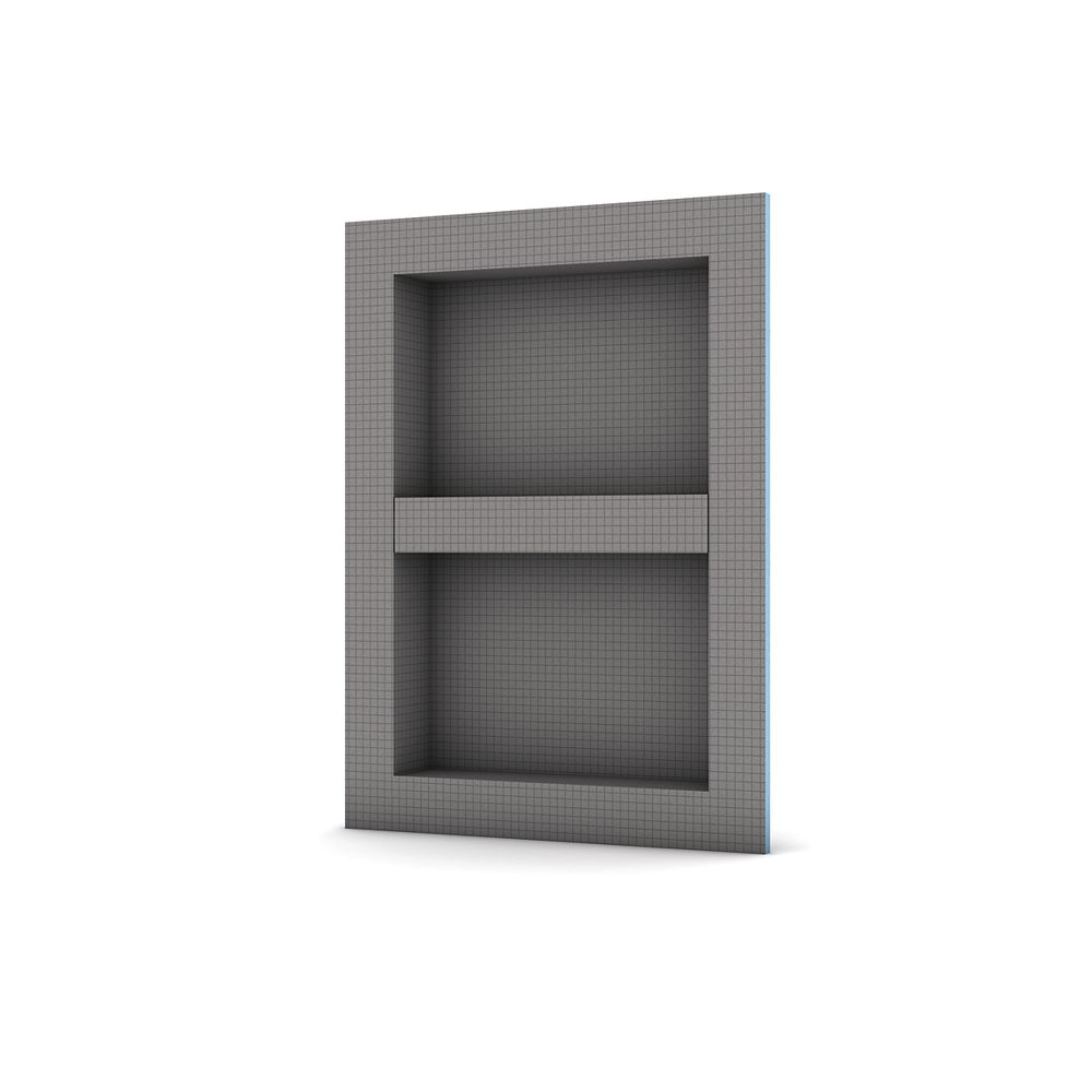 Wedi Shower Niche 16 -inch x 22 -inch with adjustable shelf (Outside Dimensions)