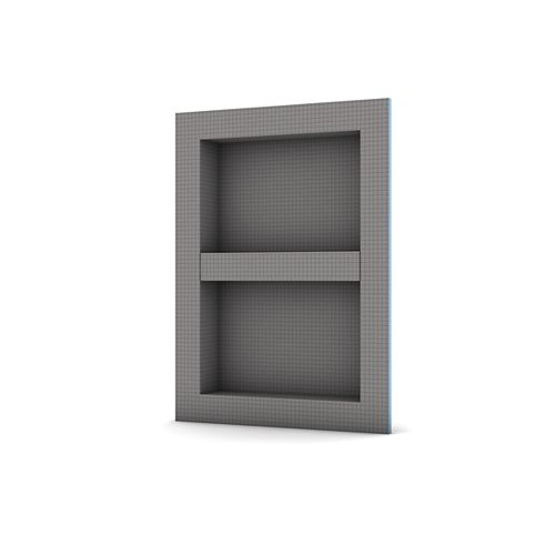 Shower Niche 16 -inch x 22 -inch with adjustable shelf (Outside Dimensions)