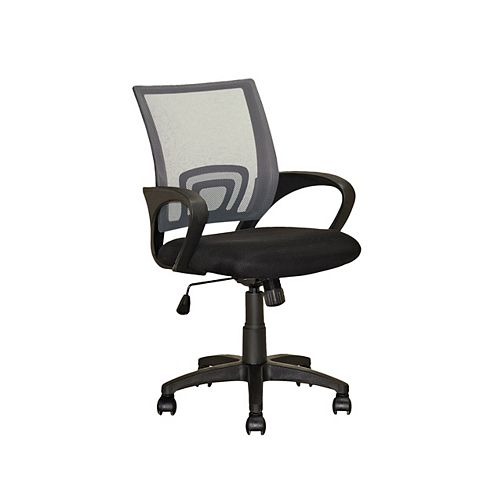 Workspace Dark Grey Back Office Chair
