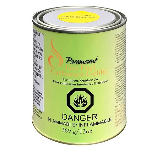 Gel Fuel Canister with Citronella
