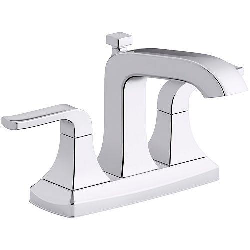 Rubicon two-handle 4 inch centerset bathroom faucet