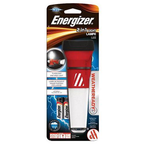 Lampe à DEL Energizer<sup>®</sup> Weatheready<sup>®</sup> 2 en 1