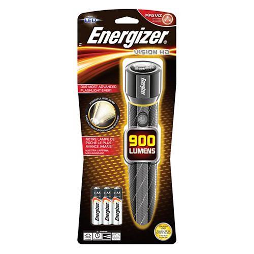 Lampes métal hautes performances Energizer<sup>®</sup> Vision HD 6AA