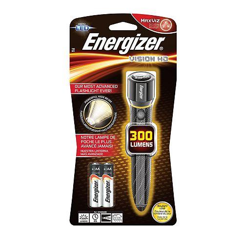 Lampes métal hautes performances Energizer<sup>®</sup> Vision HD 2AA