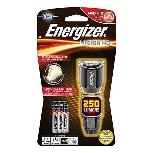 Lampes métal hautes performances Energizer Vision HD 2AA