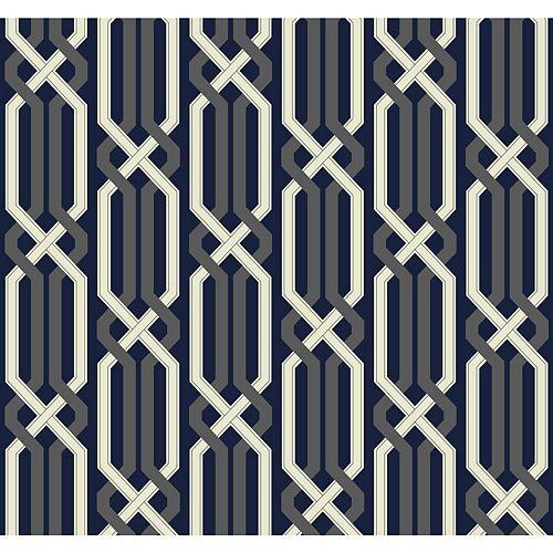 Carey Lind Vibe Criss Cross Wallpaper