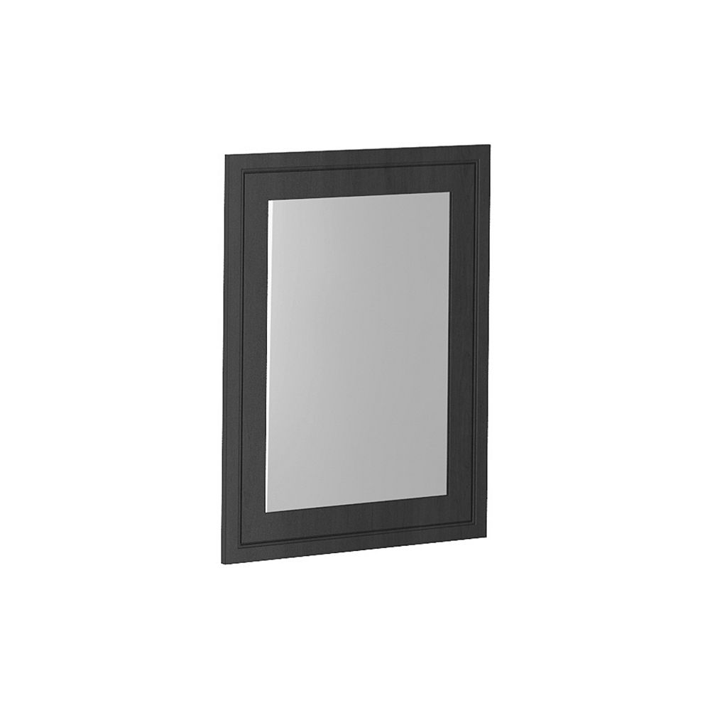 Classic Designs Classic Vanity Mirror with Stained Wood Veneer Frame