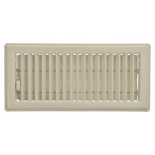 HDX 4 inch x 10 inch Floor Register - Fog