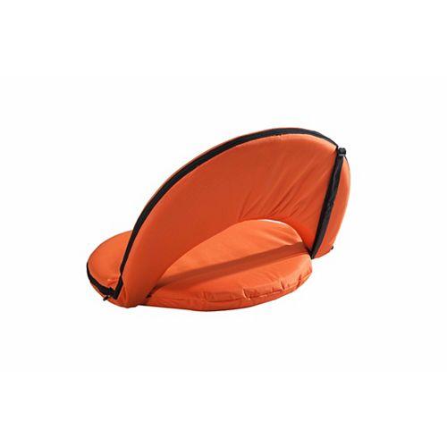 Adjustable Lounge Chair in Orange
