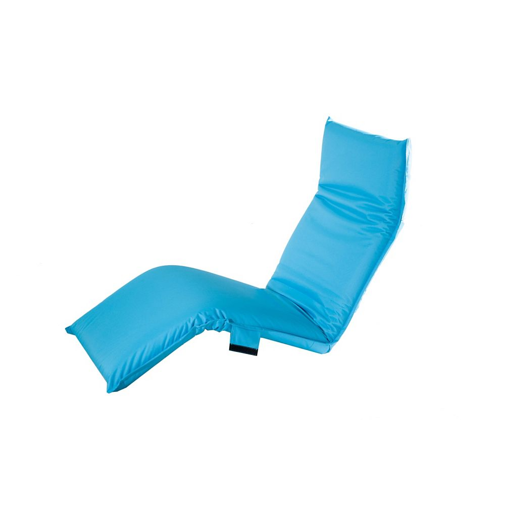 Sunjoy Adjustable Lounge Chair in Turquoise