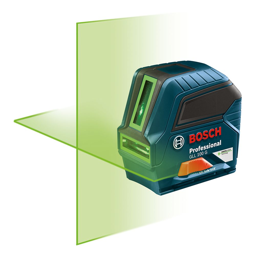 Bosch Self-Leveling Green-Beam Cross-Line Laser
