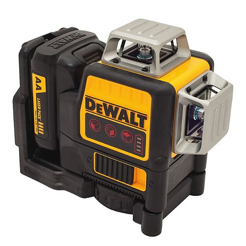 DEWALT DW089LR 12V MAX 3 x 360 Red Line Laser