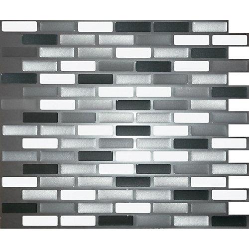 vitre Gris Stick-It Tuiles 11X9.25  Valeur (4 Tuiles)